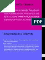 La Entrevista.sus Objetivos