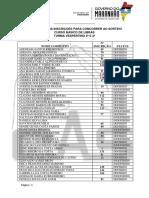 3 Resultado Das Inscrições Em Ordem Alfabetica - Turma Vespertino 2ª e 4ª