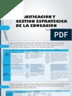 PLANIFICACIÓN Y GESTION ESTRATEGICA DE LA EDUCACIÓN ver (1)