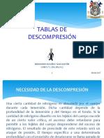 Clase Tablas Descompresion