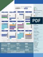 Calendario Academico Semestral 2017 Alfa Ug Ugto Universidad de Guanajuato