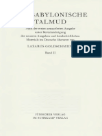 Der Babylonische Talmud Band 2