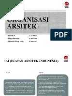 Organisasi Arsitek