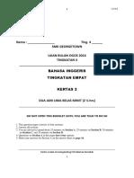 Question Paper 2 Form 4 Ujian Bulan Ogos 2016