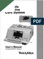 Manual  Welch AllynPIC40 y PIC50