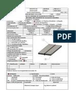 Ficha de Inspeccion - Liquidos Penetrantes II