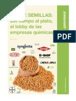 Ley de Semillas, 30 Vínculos Entre El Gobierno y Empresas Agroquímicas