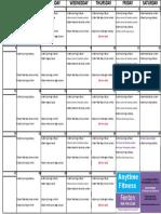FNT AUG Classes