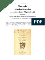 Delboy Herve - Estudios Generales Del Simbolismo Alquimico 1