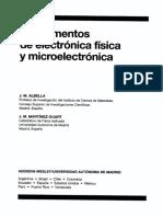 Fundamentos de Electronica Fisica y Microelectronica [Albella, J. M.]