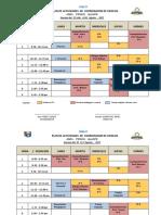 Plan de Monitoreo Del Coordinador MES de AGOSTO 2017 (1)