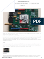 Seeedstudio SIM900 Based GSM_GPRS Shield