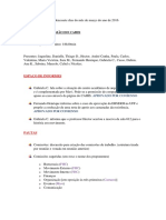 Relatoria CAHIS 17-03