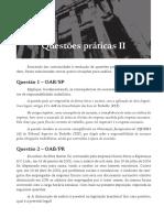 Questões práticas II