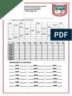 Evaluacion 2 Periodo Matematicas