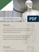 Donatello Presentation