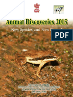 Animal Discoveries 2015