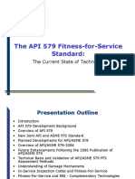 API 579 Fitness for Service, Current State of Technology