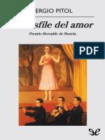 Pitol, Sergio - [Triptico de Carnaval 1] El Desfile Del Amor [30489] (r1.0)