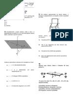 Geometria de Posição Avaliação
