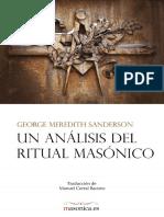 Un Analisis Del Ritual Masonico