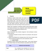 Bahan Bacaan 4.2.4 Model Pembelajaran Berbasis Masalah