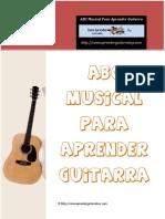 ABC Musical Para Aprender Guitarra