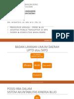 RBA Proses Dan Pertimbangan Bisnis