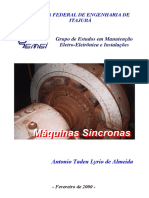 Máquinas Síncronas