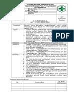 8.7.4.4 Sop Evaluasi Dan Tindak Lanjut Terhadap Pelaksanaan Uraian Tugas Dan Kewenangan Klinis 194