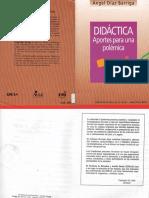 Díaz Barriga, Didáctica. Aportes Para Una Polémica
