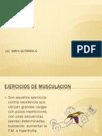 Fisiologia Del Ejercicio - Ejercicios Terapeuticos ..Musculacion (1)