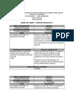 Diario de Campo Ciencias Sociales 9.1