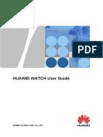 Huawei Watch User Guide 01 English