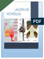 Trabajo de Destilacion de Petroleo