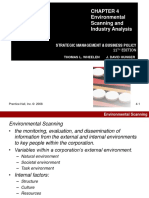Chapter 4 Environment Scanning Industry Analysis