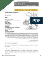 Conservación de Energía en Viviendas y Edificios