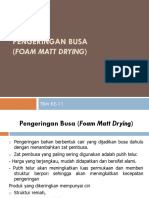 Presentasi Foam Mat Drying