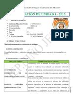 Unidad Primero 2019 Iep Niño Jesus