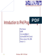 Introduction to IPv6 Programming C Java PHP Perl