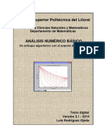 Analisis Numerico Basico Con Python