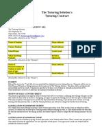 1TTSs Tutoring Contract (not mine)