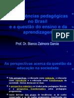 As tendências pedagógicas no Brasil - Bianco Zalmora Garcia