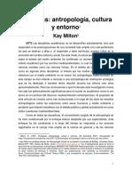 Milton, K. (1997). Ecologías. Antropología, Cultura y Entorno