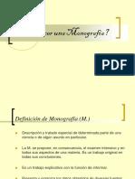 Como Hacer Una Monografía