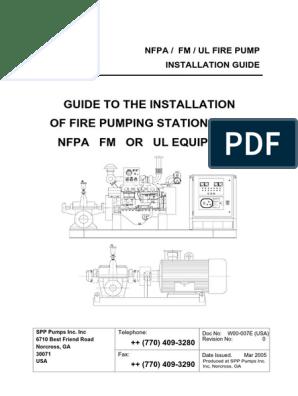 Manual de Instalación - SPP Pumps Inc  | Bomba | Válvula