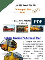Kinerja Pelayanan Au Sempati Star Rika