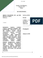 Prince Transport v. Garcia