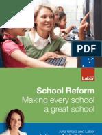 School Reform - Making Every School a Great School