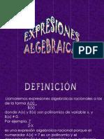 Expresiones Algebráicas